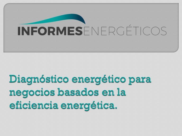 Diagnóstico, la fase 0 de la eficiencia energética.